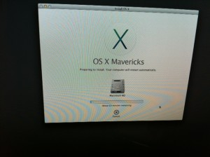 Install Mavericks via USB
