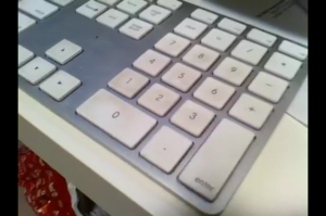 Dirty iMac Keyboard
